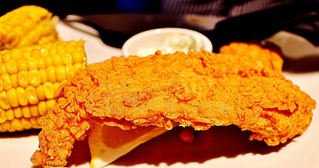 Southern fried fish recipe
